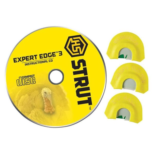 Expert Edge 3 Mouth Turkey Call Set With Dvd